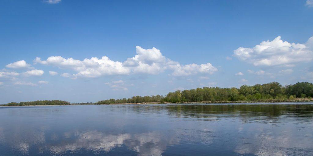 Wisła pomiędzy Warszawą a Górą Kalwarią