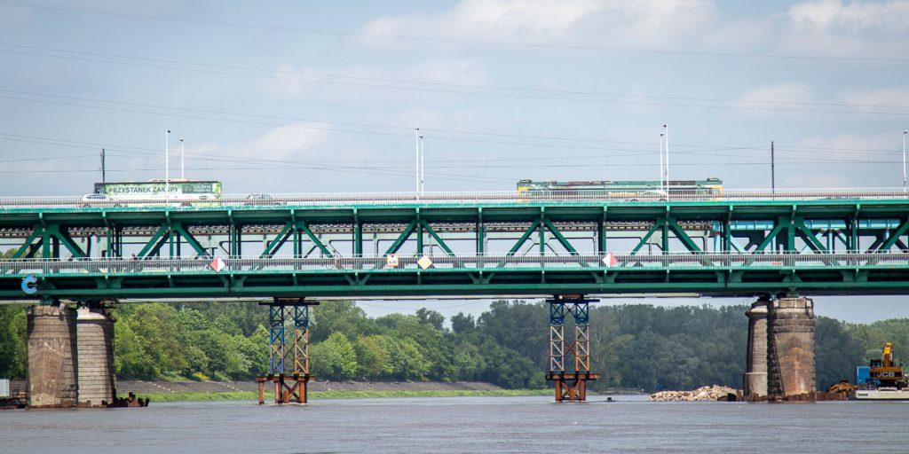Most Gdański - dwupoziomowy most stalowy na Wiśle